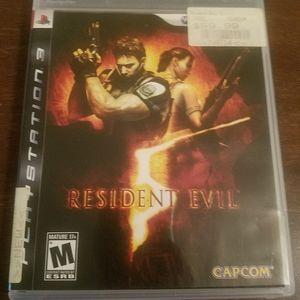 Resident Evil PlayStation 3